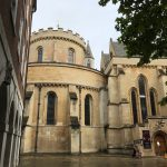 exterior view of the apse of Temple Church London