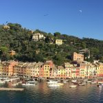 brightly colored houses along the water of Portofino