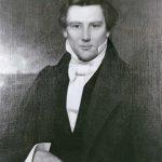 black and white portrait of Joseph Smith Jr