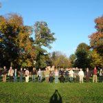 group at great circle entrance