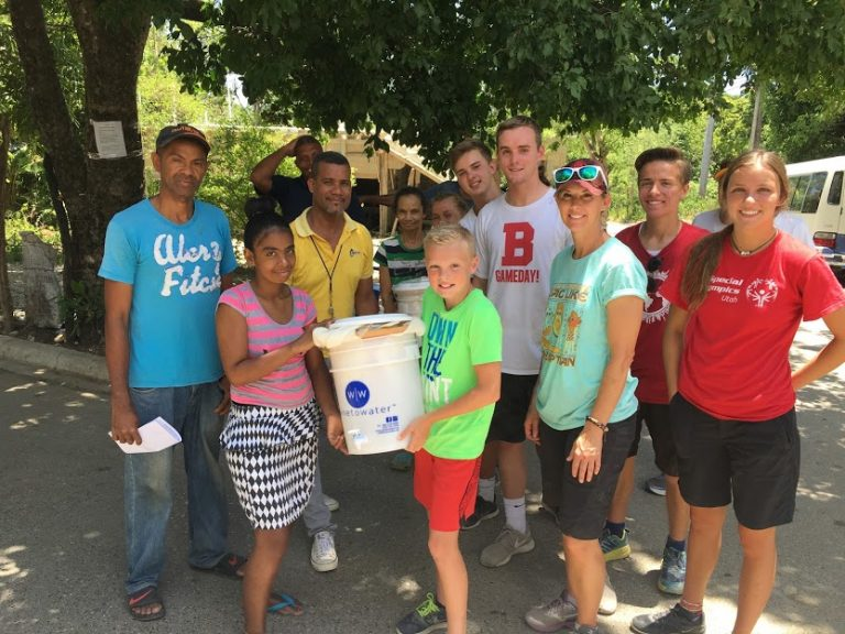 water is life, water filter service project