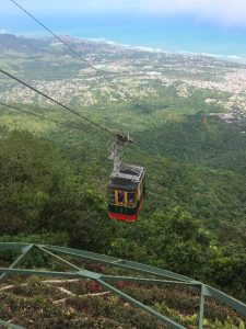 cable car from Mount of Isabel del Torres