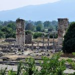 ruins of ancient city of Philippi Greece
