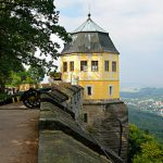 Koningstein Fortress East Side Germany
