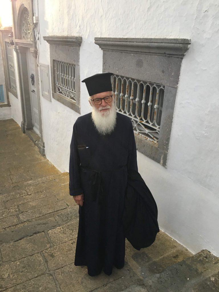 monk from St John the Divine monastery