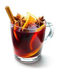 Warm German alcoholic beverage