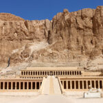 Hatshepsut's tomb in the Valley of the Kings Egypt